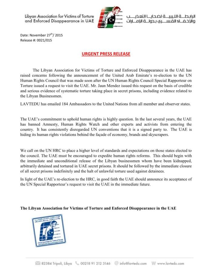 Press release 21-UN Communications