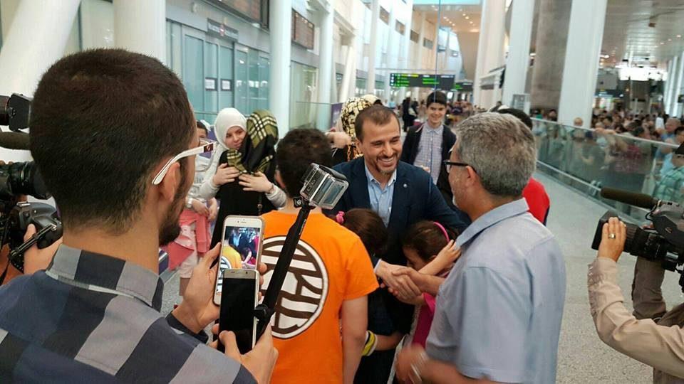 Media Advisory – Canadian Salim Alaradi Arrives Today at Pearson Airport at 5:40 pm